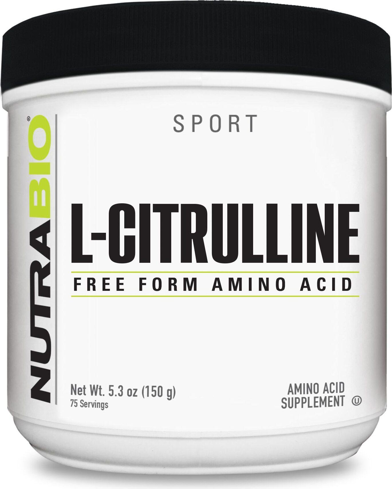 NutraBio L-Citrulline