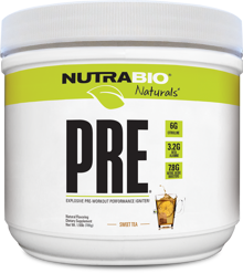 NutraBio Natural Series Pre Workout
