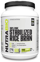 NutraBio Stabilized Rice Bran