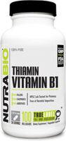 NutraBio Vitamin B-1