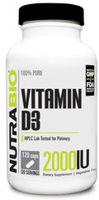 NutraBio Vitamin D