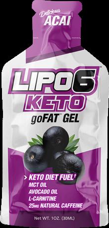 Nutrex Lipo-6 GoFat Gels: A Tasty Shot of MCT!