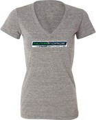 "NutriForce Sports ""Never Quit"" Women's V-Neck"