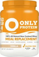 Only Protein 100% All Natural New Zealand Whey Meal Replacement