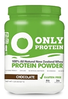 Only Protein 100% All Natural New Zealand Whey Protein Powder