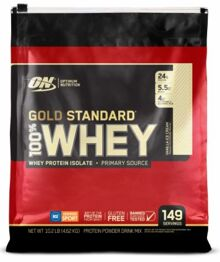 The GOLD Standard of Whey Protein!  But how is their chocolate peanut butter?