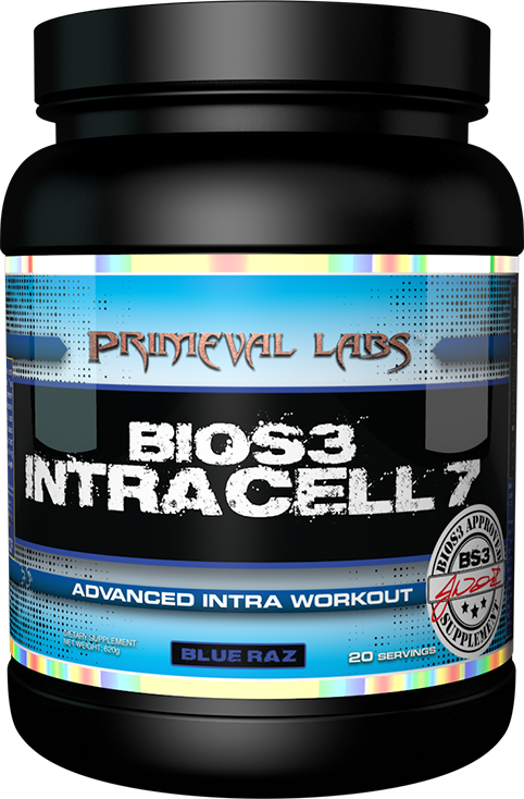 BIOS3 Intracell 7 from Primeval Labs is a true intra workout supplement!