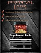 Primeval Labs Explosion Preworkout