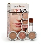 Pur Minerals Start Now! 4-Piece Essentials Collection, Dark