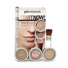 Pur Minerals Start Now! 4-Piece Essentials Collection, Golden Medium