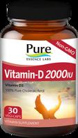 Pure Essence Labs Vitamin-D 2000 IU