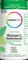Rainbow Light Certified Organics - Women's Multivitamin
