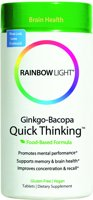 Rainbow Light Ginkgo-Bacopa Quick Thinking