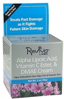Reviva Labs Alpha Lipoic Acid Vitamin C Ester & DMAE Cream