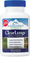 Ridgecrest Herbals Clear Lungs Extra Strength