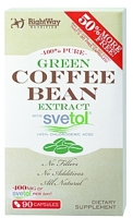 Rightway Nutrition 100% Pure Green Coffee Bean Extract with Svetol