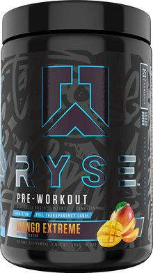 Fuel Your Greatness with RYSE Supps Project Blackout Pre Workout!
