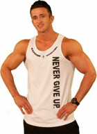 SamsonWear Men's Never Give Up Tank