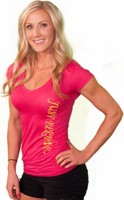 SamsonWear Women's Just Believe V-Neck