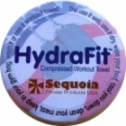 Sequoia Fitness HydraFit Compressed Workout Towel