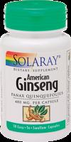 Solaray American Ginseng