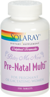 Solaray Baby Me Now Pre-Natal Multi