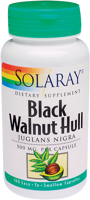 Solaray Black Walnut Hull