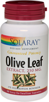 Solaray Olive Leaf Extract