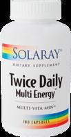 Solaray Twice Daily Multi Energy