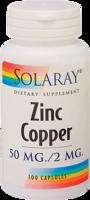 Solaray Zinc Copper