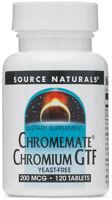 Source Naturals Chromemate Chromium GTF