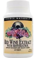 Source Naturals Red Wine Extract with Resveratrol