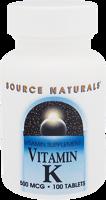Source Naturals Vitamin K