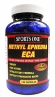 Sports One Methyl Ephedra ECA