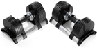 Stairmaster StairMaster TwistLock Adjustable Dumbbells