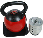 Stamina Products Stamina 36lb. Adjustable Kettle Versa-Bell