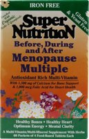 Super Nutrition Before, During and After Menopause Multiple