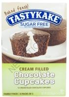 Tastykake Sensables Sugar Free Cream Filled Cup Cakes