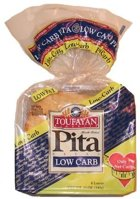 Toufayan Bakeries Low Carb Pita Bread