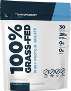 Transparent Labs Grass Fed Whey Protein Isolate