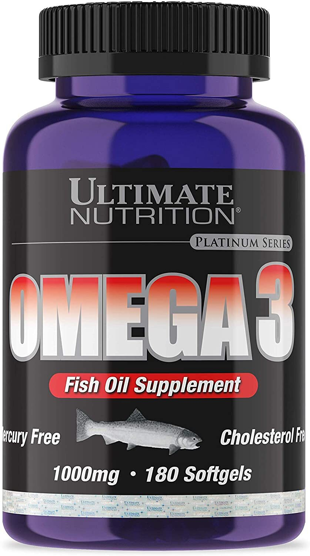 Рыбий жир Omega 3 от Ultimate Nutrition UN