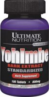 Ultimate Nutrition Yohimbe Bark Extract
