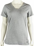 Under Armour Women's Charged Cotton Plunge V-Neck T-Shirt