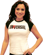 Universal Ladies Cap Sleeve Tee