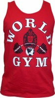 World Gym Athletic Tank
