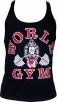 World Gym Stringer Tank